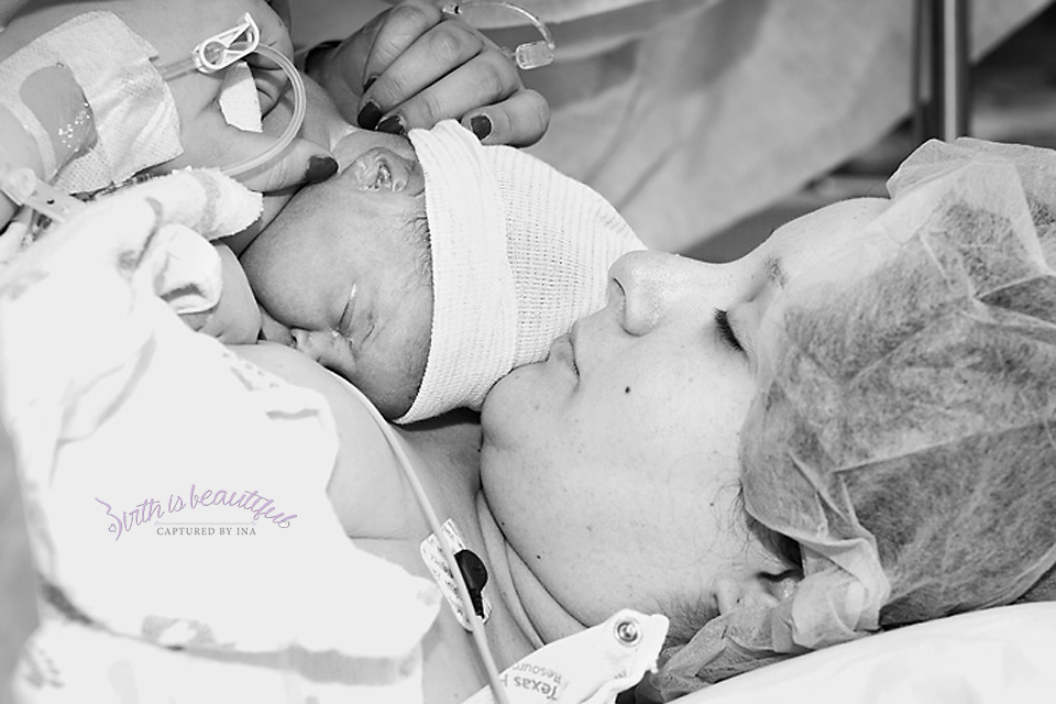 Harper 3 Hospital Birth Photography Cleburne Dallas Fort Worth