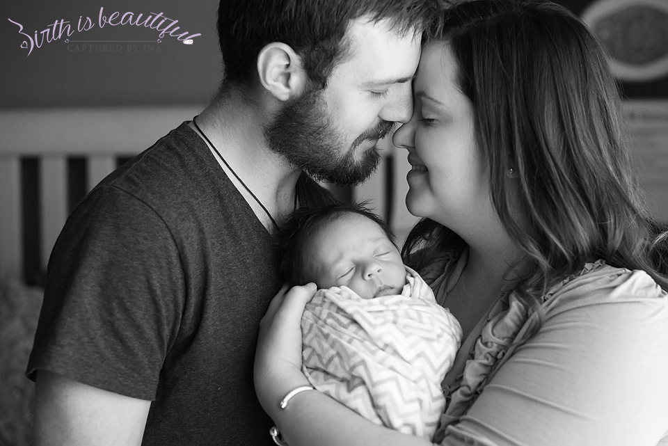 Henry, Burleson Birth and lifestyle newborn photography